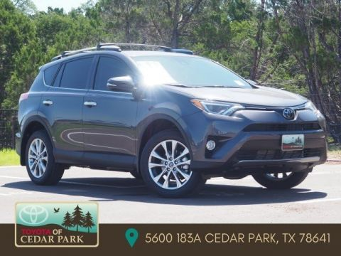 New 2017 Toyota RAV4 Limited With Navigation
