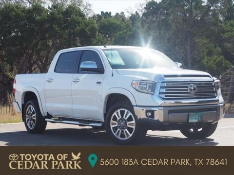 New 2018 Toyota Tundra 4WD 1794 Edition CrewMax 5.5' Bed 5.7L FFV
