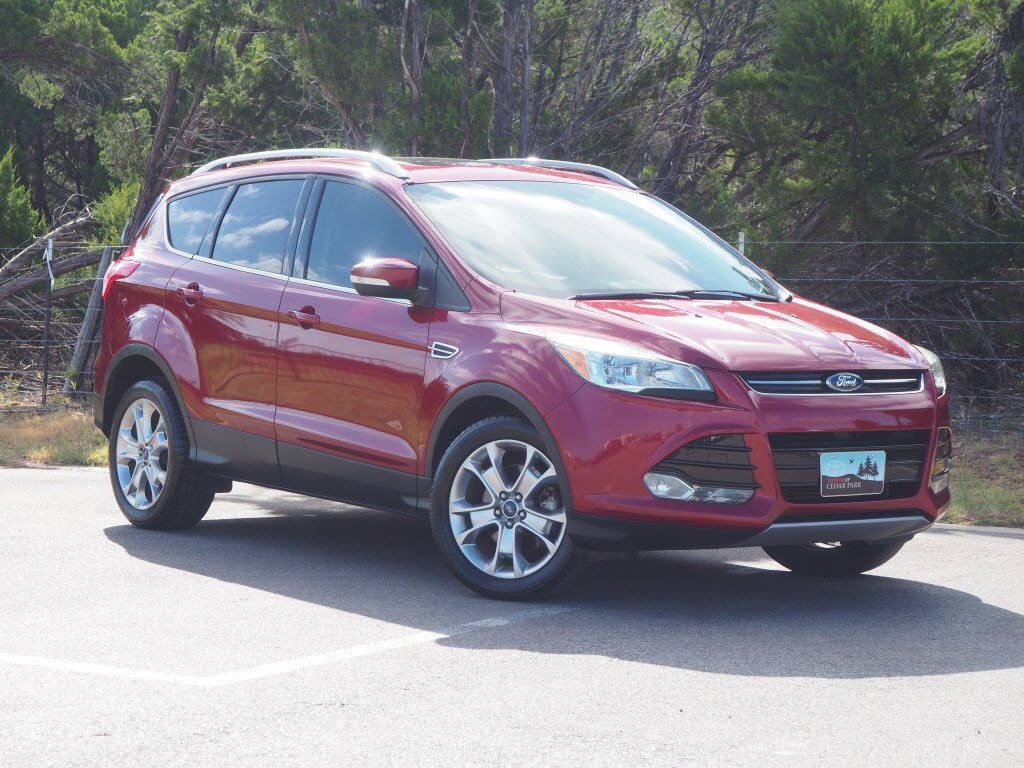 Ford Escape Titanium >> Pre Owned 2014 Ford Escape Titanium Fwd Sport Utility