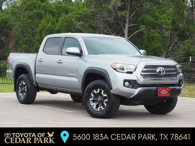 Certified Pre-Owned 2017 Toyota Tacoma 4X4