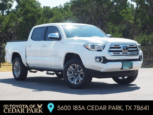 New 2019 Toyota Tacoma Limited 4D Double Cab