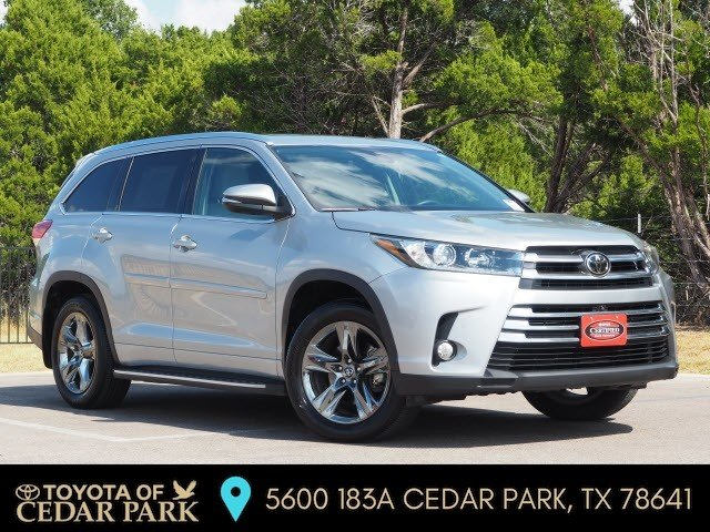 Certified Pre-Owned 2017 Toyota Highlander LTD PLT