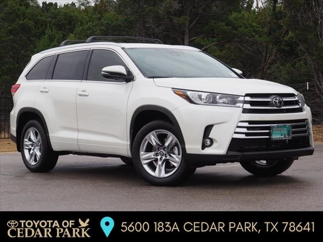 New 2019 Toyota Highlander LIMITED - V6 FWD