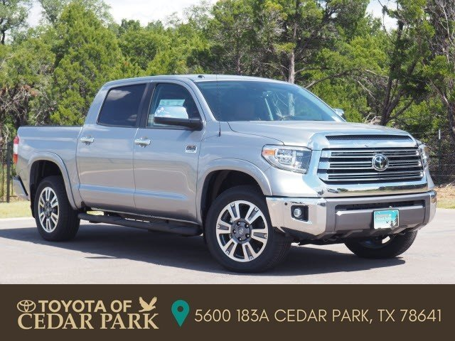 New 2019 Toyota Tundra 4wd 1794 Edition Crew Cab Pickup In Cedar