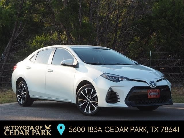 Certified Pre-Owned 2017 Toyota Corolla SE FWD 4dr Car