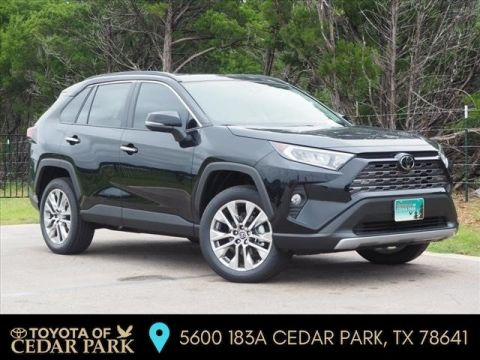 New 2019 Toyota RAV4 Limited FWD SUV
