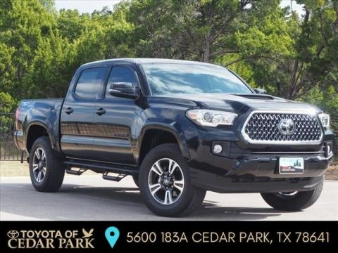New 2019 Toyota Tacoma TRD Sport Double Cab 5' Bed V6 AT (Natl)