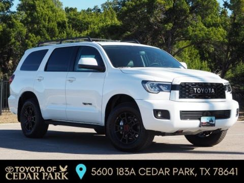 New 2020 Toyota Sequoia TRD Pro 4WD 4D Sport Utility