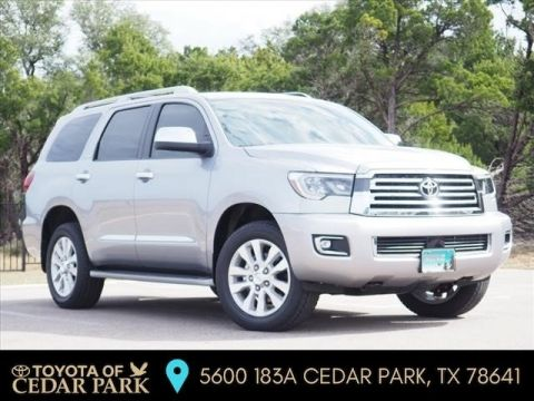 New 2018 Toyota Sequoia PLAT 7-PASS 5.7L V8