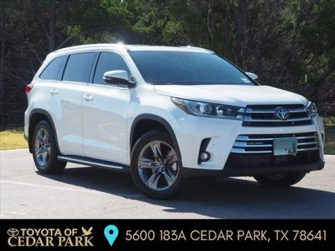 New 2019 Toyota Highlander Limited Platinum