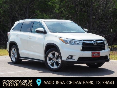 Certified Pre-Owned 2015 Toyota Highlander LTD PLT