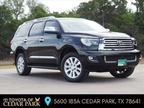 New 2019 Toyota Sequoia PLAT 7-PASS 5.7L V8