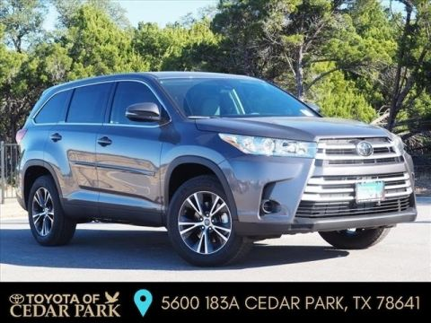 New 2019 Toyota Highlander LE FWD 4D Sport Utility
