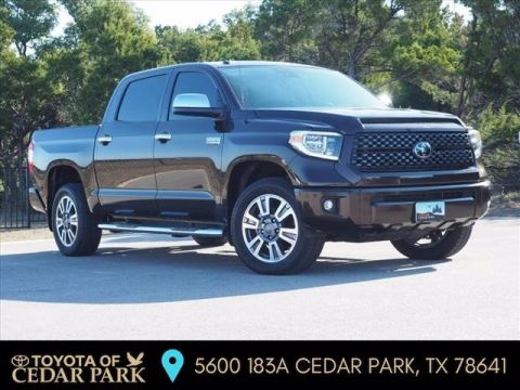 New 2019 Toyota Tundra Platinum CrewMax 5.5' Bed 5.7L (Natl)