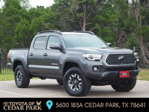 Certified Pre-Owned 2018 Toyota Tacoma 4X4