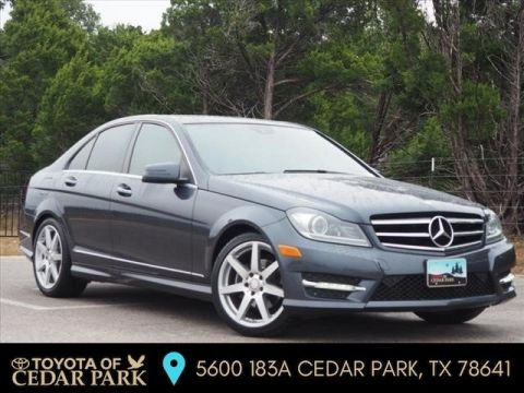 Pre-Owned 2014 Mercedes-Benz C-Class RWD 4dr Car